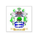 Woolf Square Sticker 3