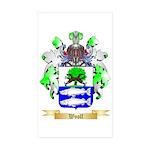 Woolf Sticker (Rectangle 10 pk)