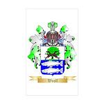 Woolf Sticker (Rectangle 50 pk)