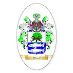 Woolf Sticker (Oval)