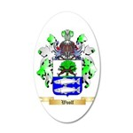 Woolf 20x12 Oval Wall Decal