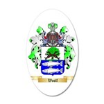 Woolf 35x21 Oval Wall Decal