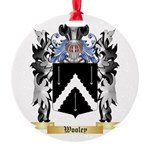 Wooley Round Ornament