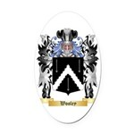 Wooley Oval Car Magnet