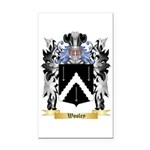 Wooley Rectangle Car Magnet