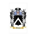 Wooley Sticker (Rectangle 10 pk)