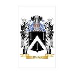 Wooley Sticker (Rectangle 50 pk)