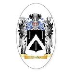 Wooley Sticker (Oval)