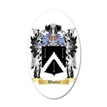Wooley 20x12 Oval Wall Decal