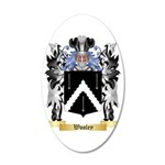 Wooley 35x21 Oval Wall Decal