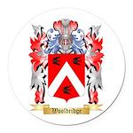 Wooldridge Round Car Magnet