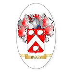 Woolard Sticker (Oval 50 pk)