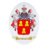 Wool Oval Ornament