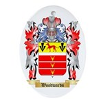 Woodwards Oval Ornament