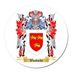 Woodside Round Car Magnet