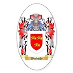 Woodside Sticker (Oval 50 pk)