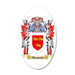 Woodside 20x12 Oval Wall Decal