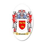 Woodside 35x21 Oval Wall Decal