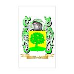 Woods Sticker (Rectangle)