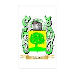 Woods Sticker (Rectangle 50 pk)