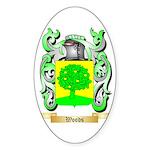 Woods Sticker (Oval 10 pk)