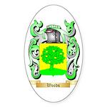 Woods Sticker (Oval 50 pk)