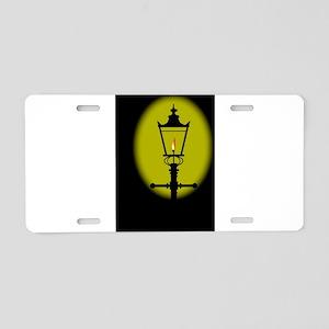 Gaslight Aluminum License Plate