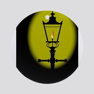 Gaslight Round Ornament