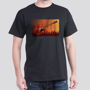 Grunge City Guitar T-Shirt