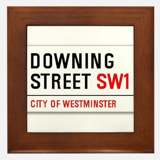 Downing Street Framed Tile