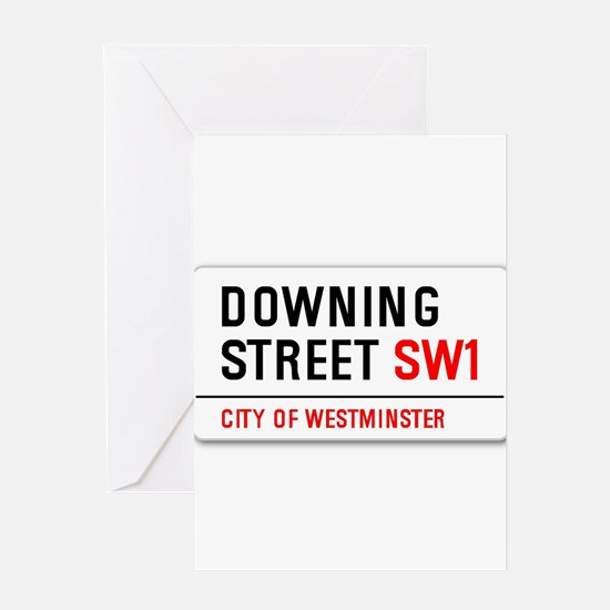 Downing Street Greeting Cards