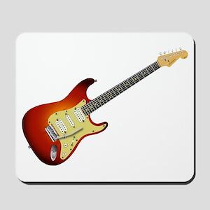 Sunburst Electric Guitar Mousepad