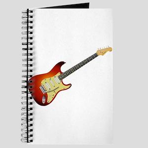 Sunburst Electric Guitar Journal
