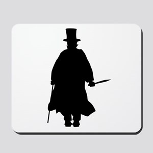 Jack the Ripper Silhouette Mousepad