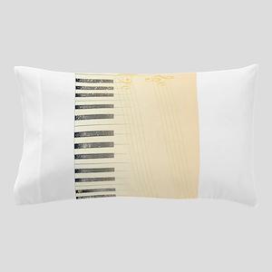 Antique Piano Background Pillow Case