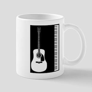 Guitar Piano Duo Mugs