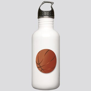 Basketball Over White Stainless Water Bottle 1.0L