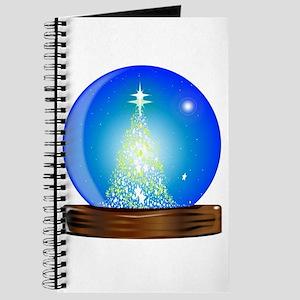 Christmas Globe Tree Journal