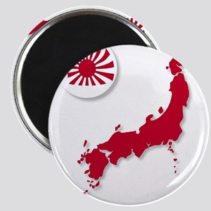 Japanese Flag Sphere And Map Magnets