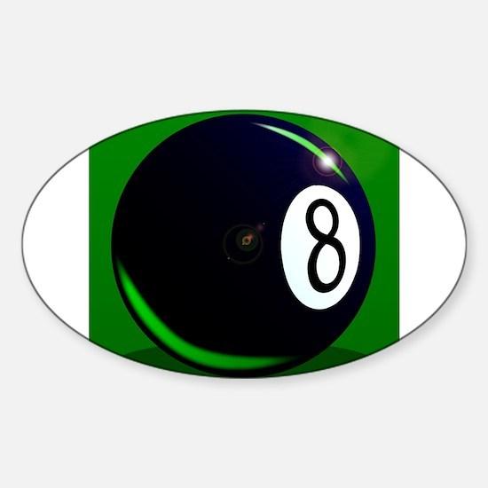 Eight Ball Decal