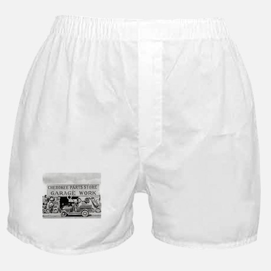 Cherokee Parts Store Vintage Garage Boxer Shorts