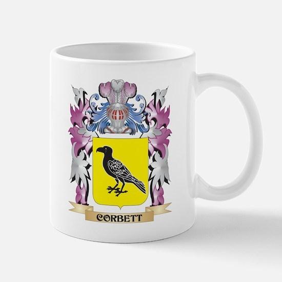 Corbett Coat of Arms (Family Crest) Mugs
