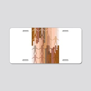 Skin Aluminum License Plate