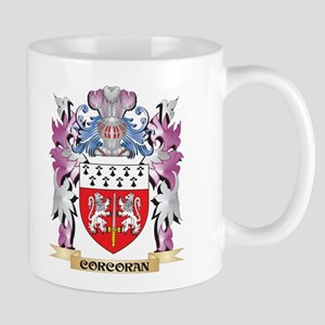 Corcoran Coat of Arms (Family Crest) Mugs