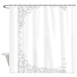Line Drawing Shower Curtains