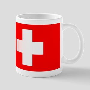 Swiss National Flag Mugs