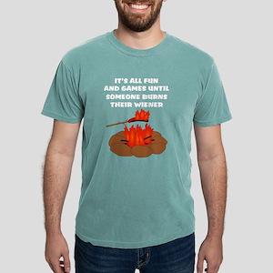 Someone Burns Wiener Women's Dark T-Shirt