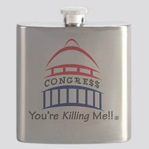 You're Killing Me!! Congress Flask