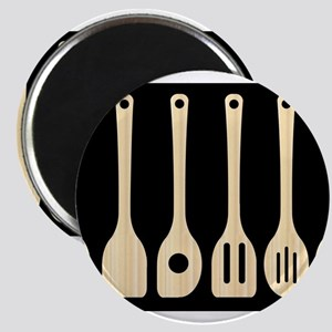 Wooden Kitchen Tools Magnets