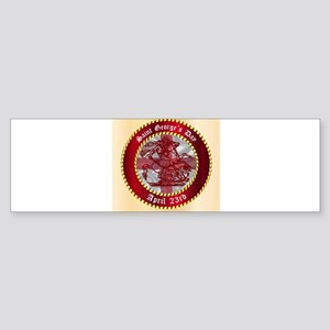 Saint Georges Day Button Bumper Sticker